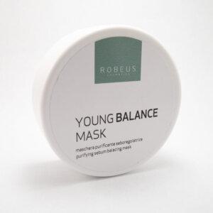 Maska proti akné se zeleným jílem