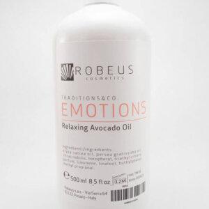 Tělový masážní olej – avokádový